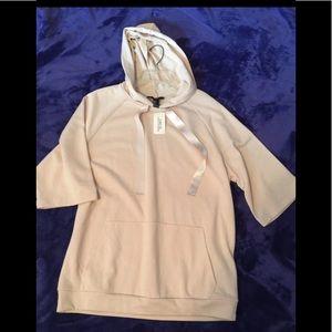 Half sleeve Pullover Hoodie
